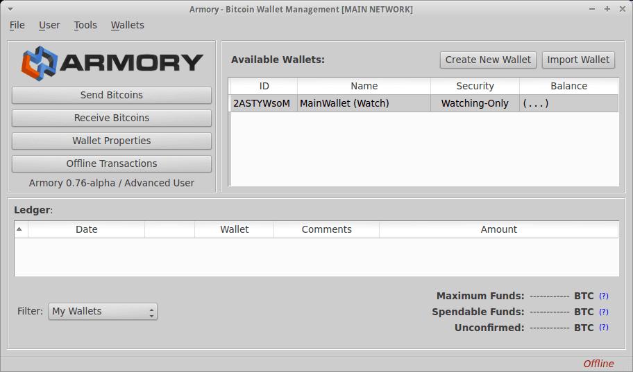 Armory кошелек