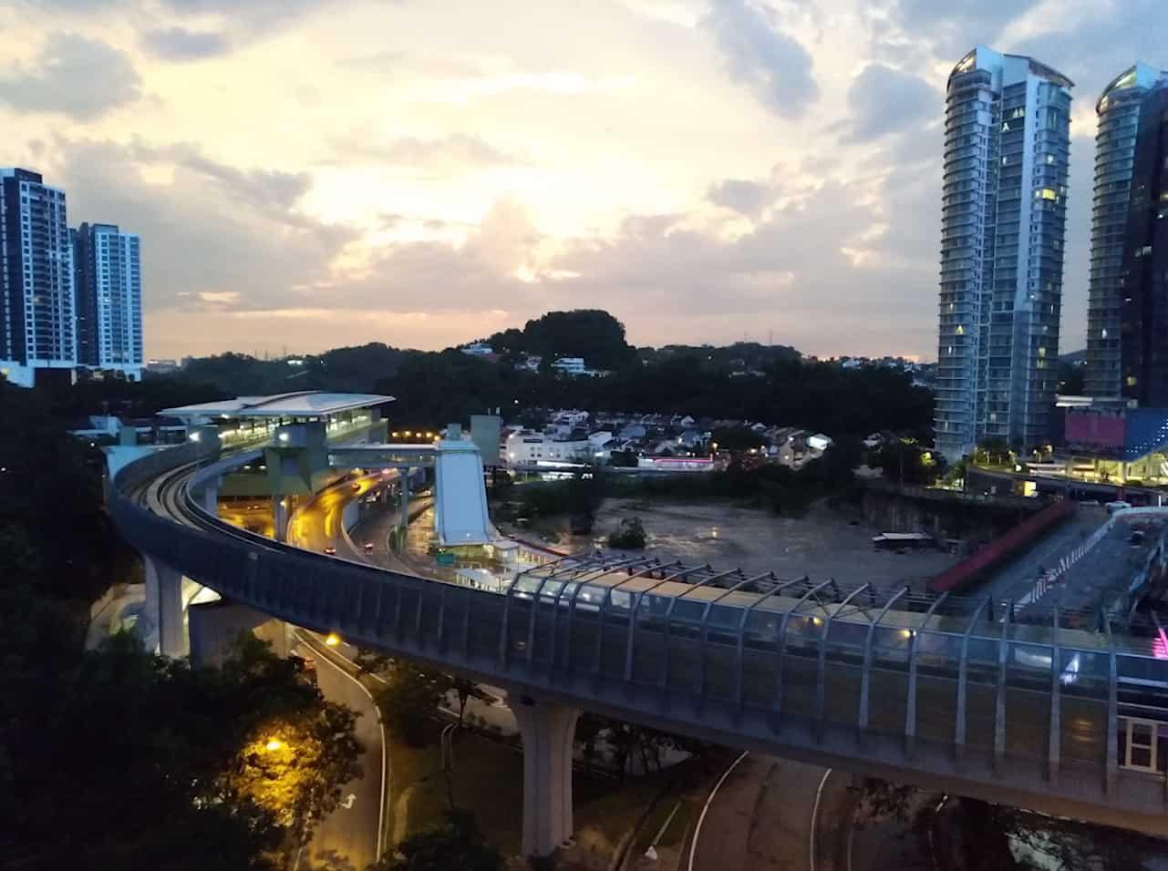Фотография в вечернее время суток