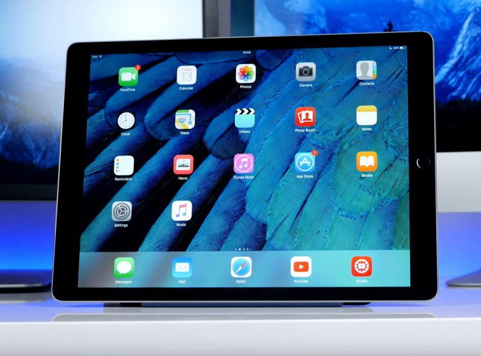 Дизайн Apple iPad Pro 12.9 (2017)