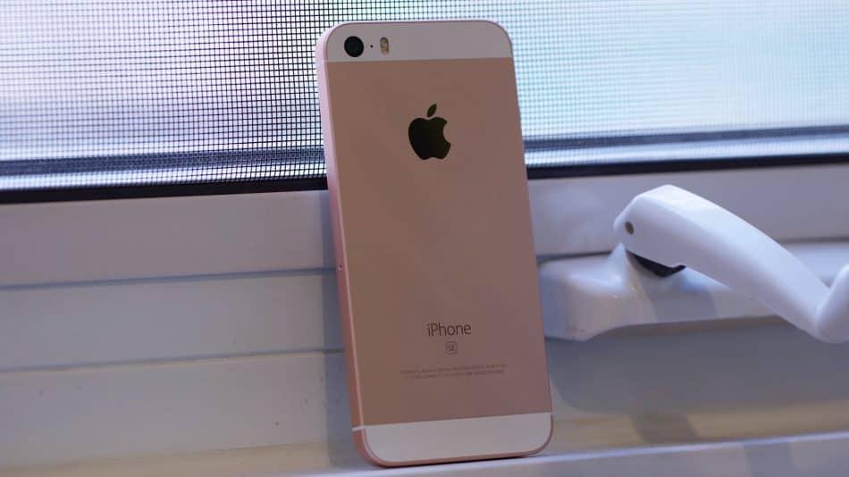 Задняя панель Apple iPhone SE