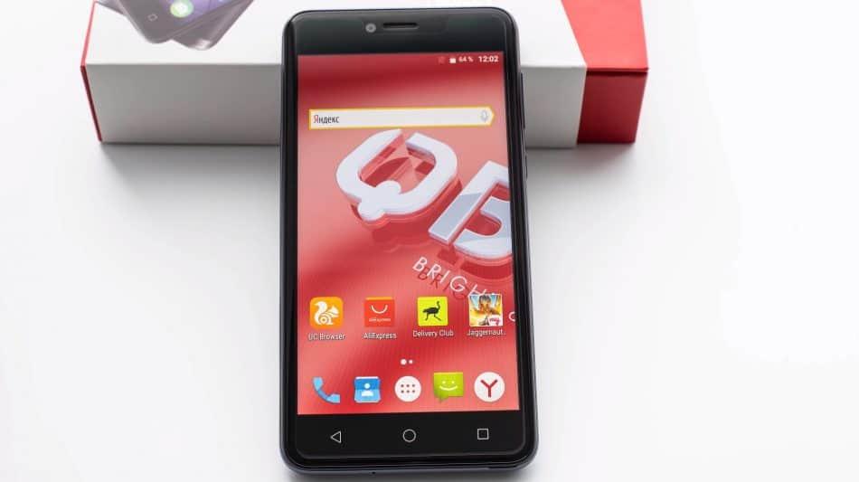 Дисплей смартфона BQ-5059 Strike Power