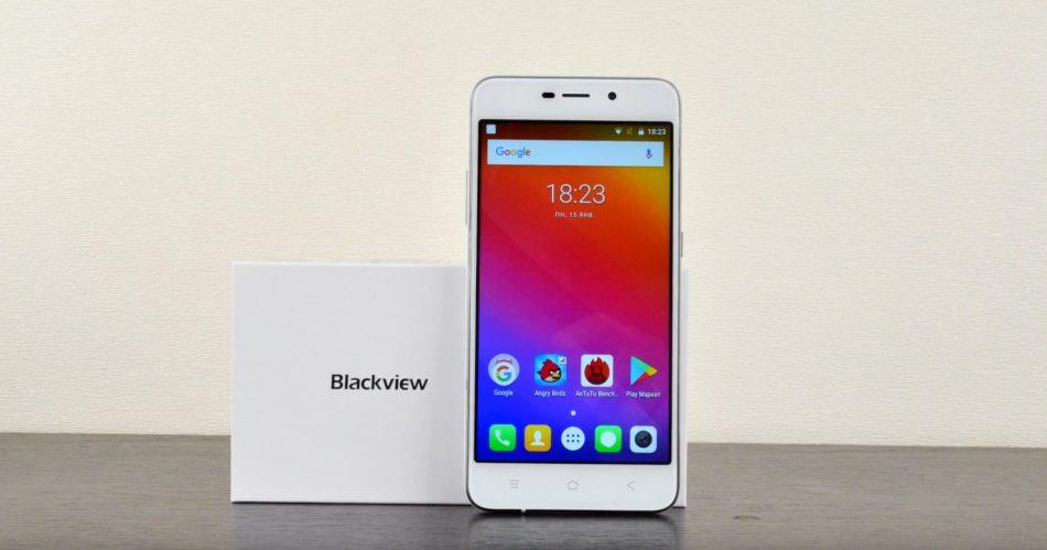 Комплектация смартфона Blackview A10