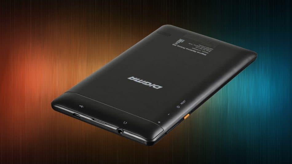 планшет Digma Optima Prime 3G  вид сзади