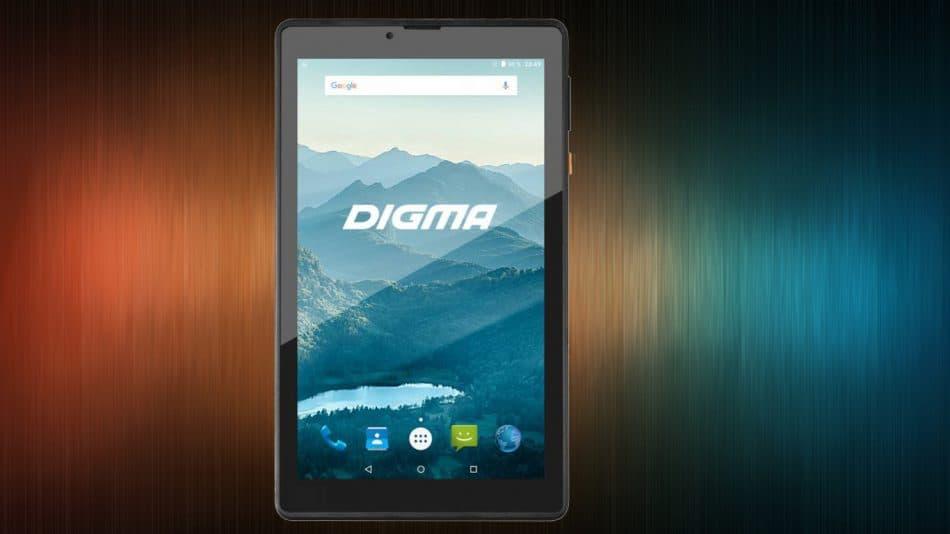 Дисплей планшета Digma Optima Prime 3G