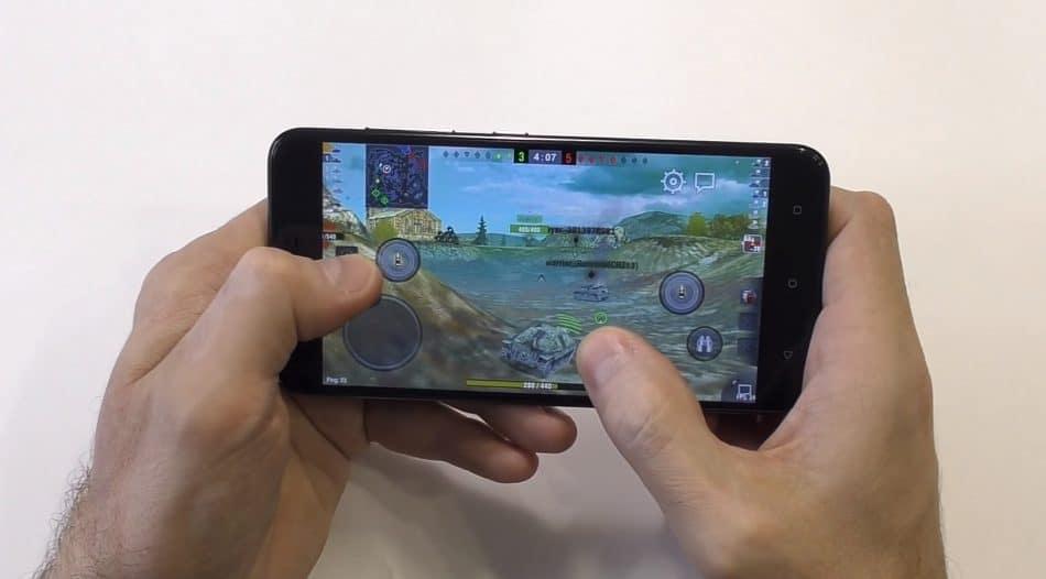 Игра WoT Blitz на HTC One X10