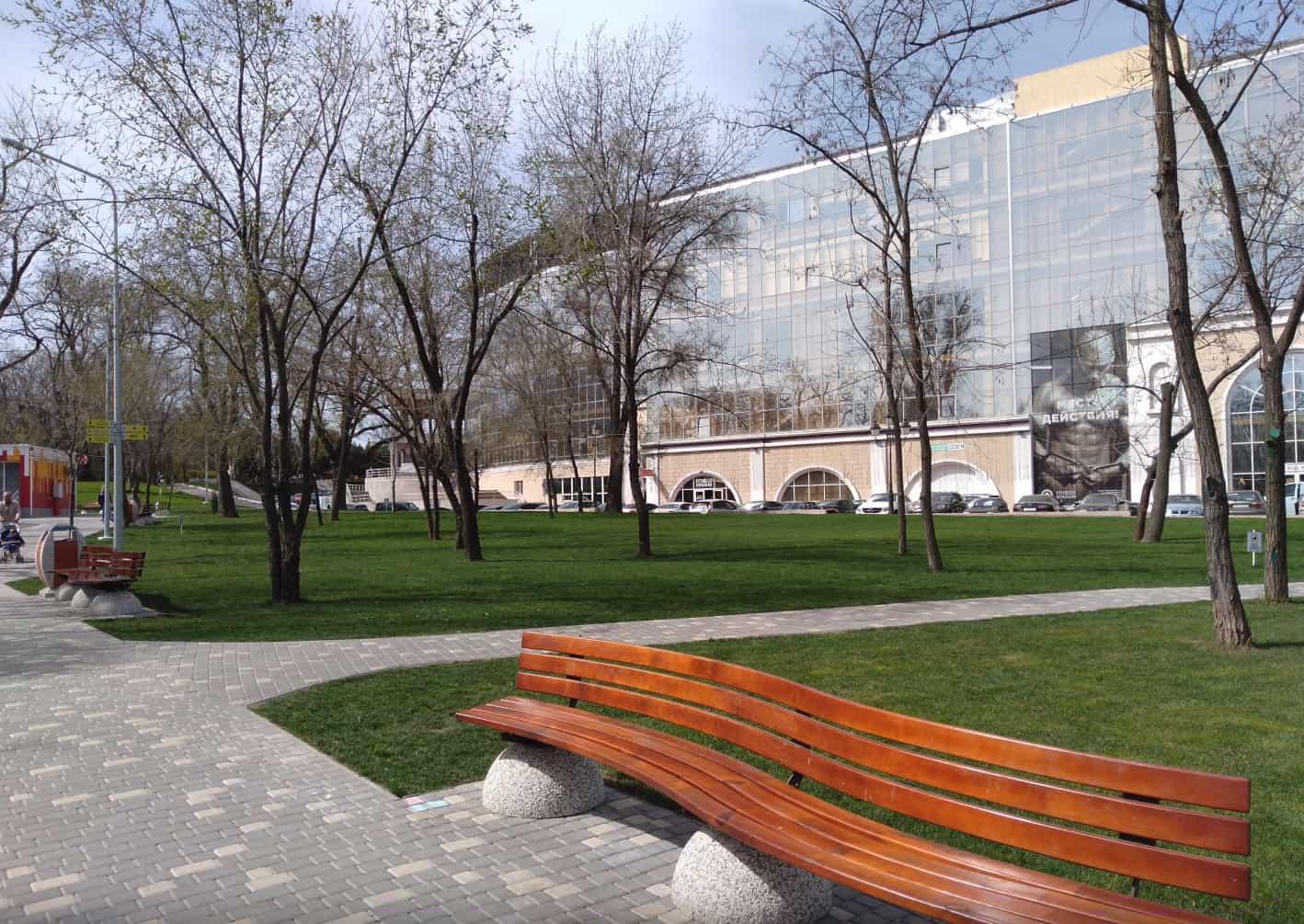 Фотосъемка днём в парке