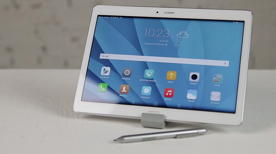 Дизайн планшета Huawei MediaPad M2 10
