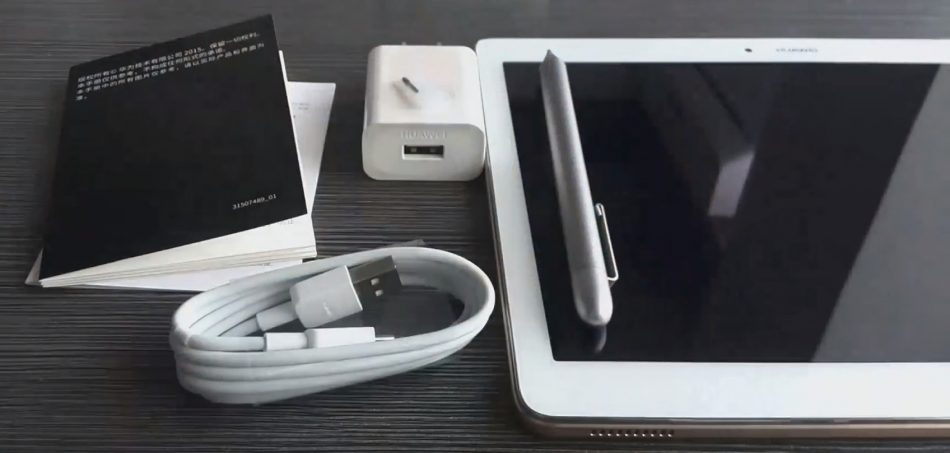 Комплектация Huawei MediaPad M2 10