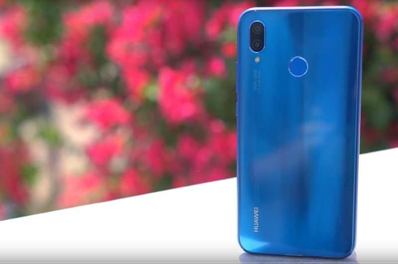 Дизайн смарфона Huawei P20 Lite
