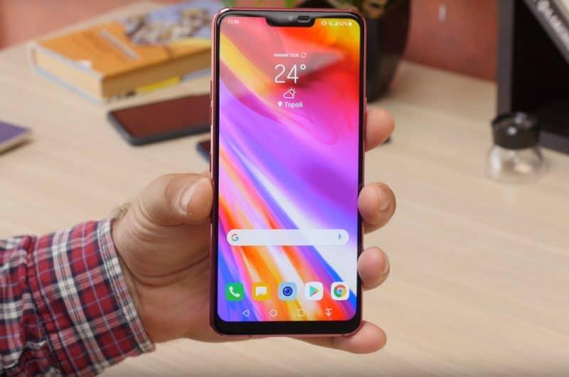 Дисплей смарфона LG G7 ThinQ