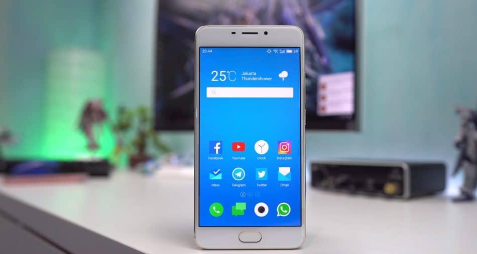 Дизайн смартфона Meizu M5 Note