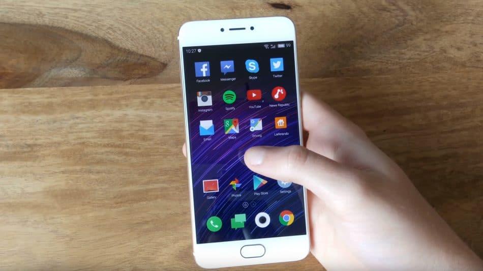 Экран у Meizu Pro 6