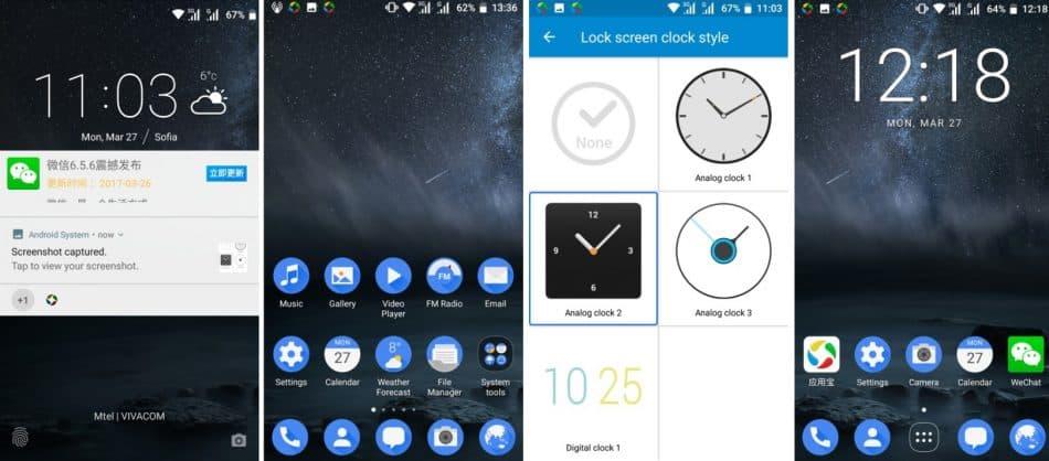 Интерфейс Nokia 6.1