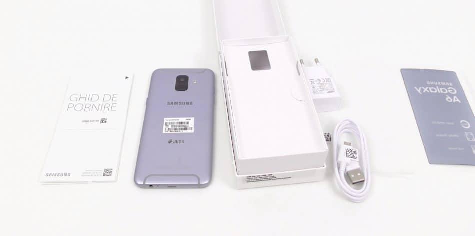 Комплектация Samsung Galaxy A6