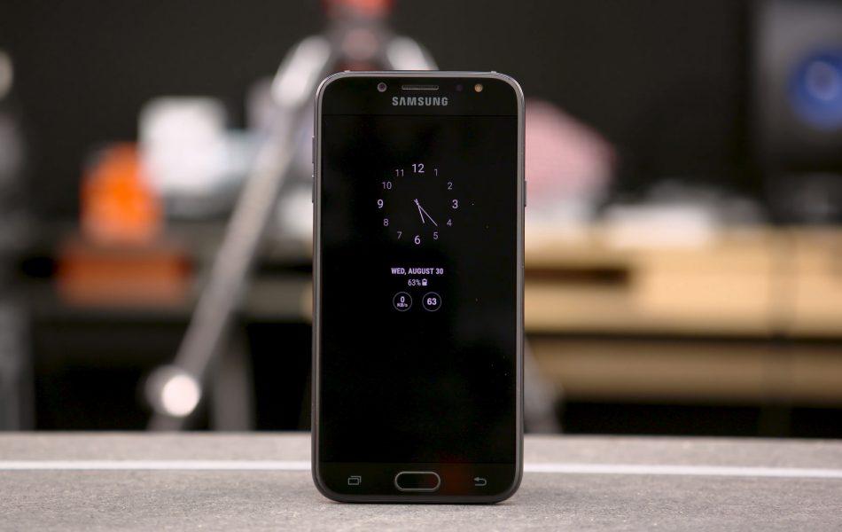 Дизайн Samsung Galaxy J7 2017