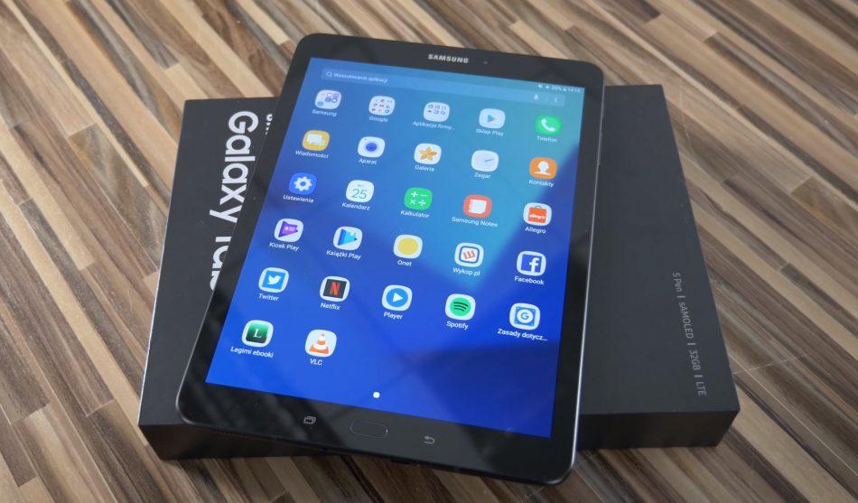 Внешний вид Samsung Galaxy Tab S3