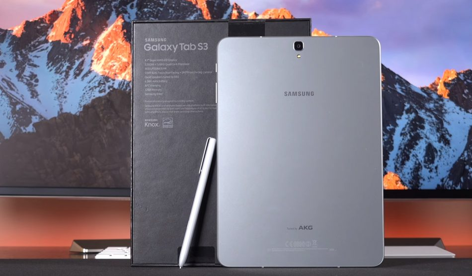 Задняя панель Samsung Galaxy Tab S3