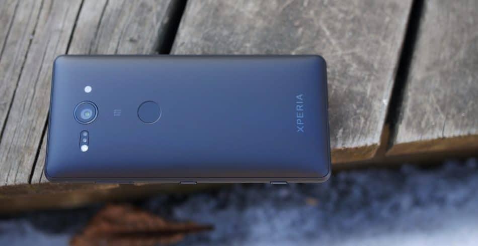 Задняя крышка смартфона Sony Xperia XZ2 Compact