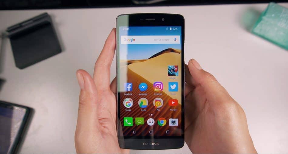 Экран смартфона TP-LINK NEFFOS C5A