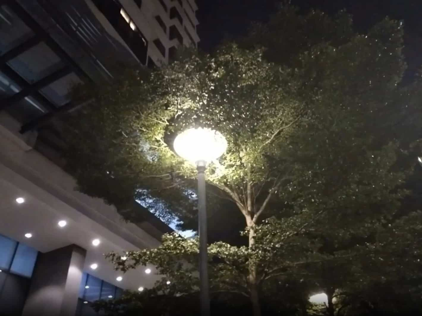 Фотосъемка ночью