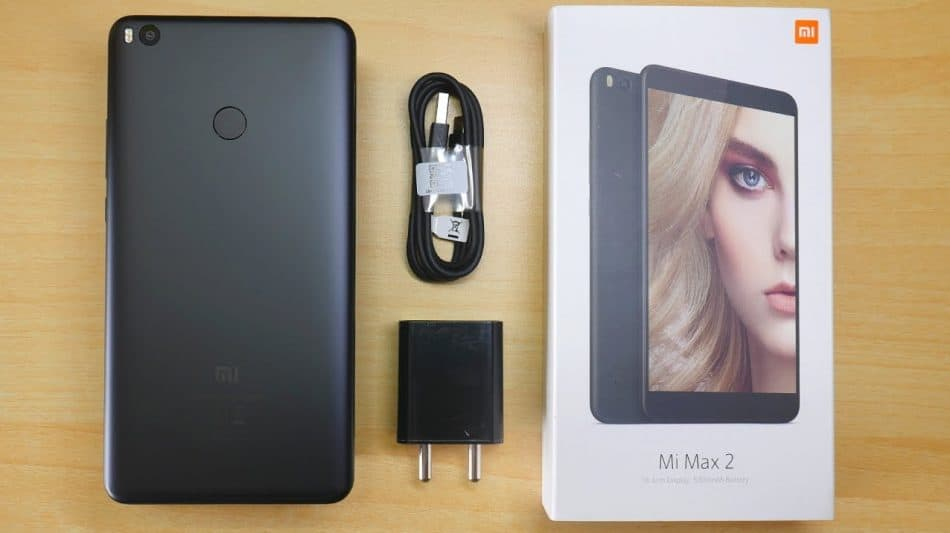 Комплектация Xiaomi Mi Max 2