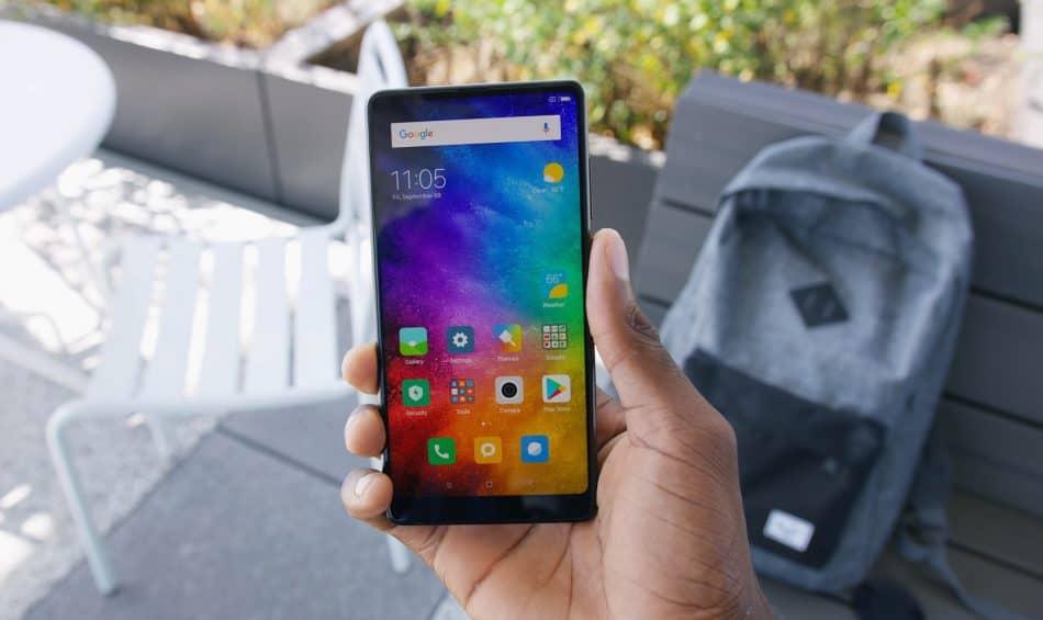 Внешний вид Xiaomi Mi Mix 2