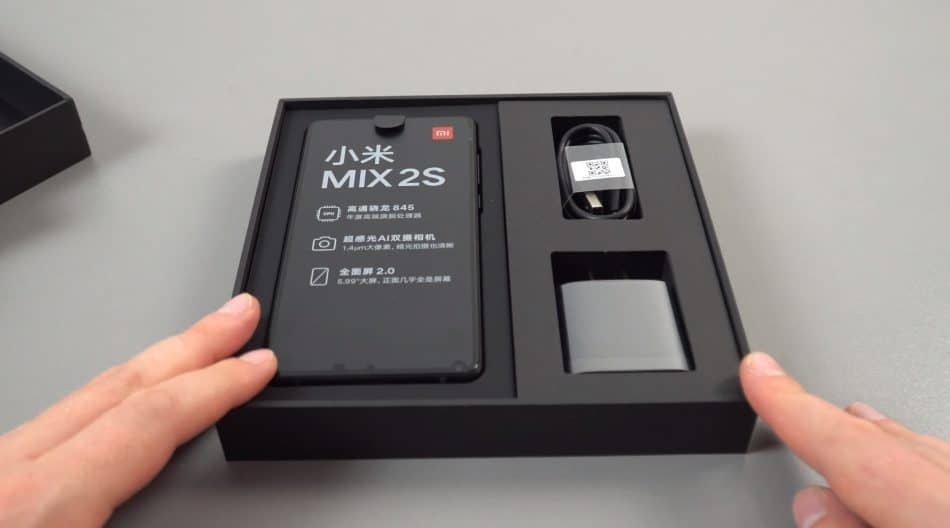 Заводская комплектация Xiaomi Mi Mix 2