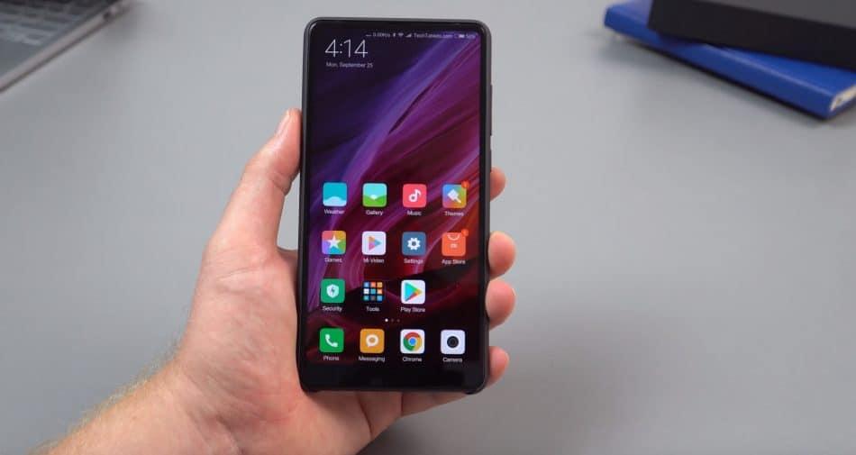 Дисплей смартфона Xiaomi Mi Mix 2