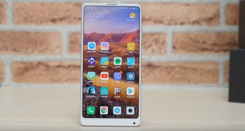 Дизайн смарфона Xiaomi Mi Mix 2S
