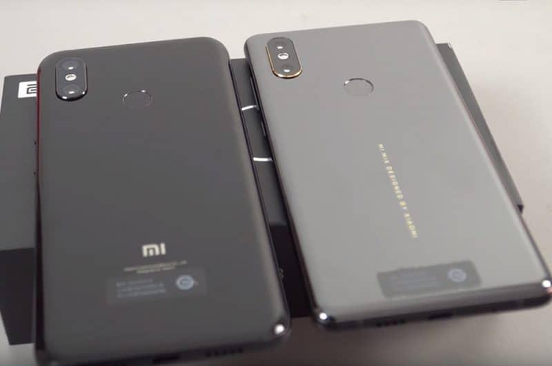 Дизайн смартфона Xiaomi Mi 8
