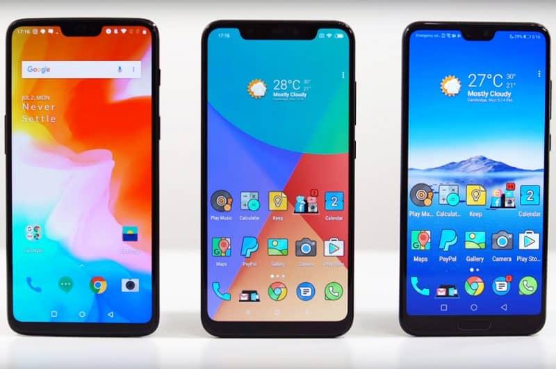 Дисплей смарфона Xiaomi Mi 8