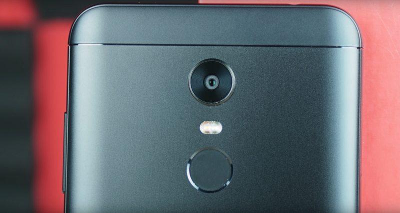 Камера смарфона Xiaomi Redmi 5 Plus