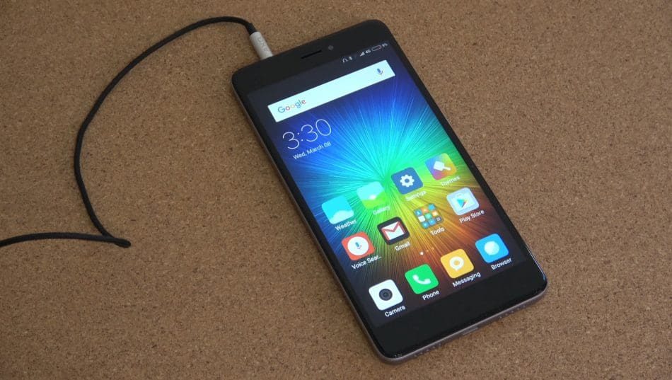 Внешний вид смартфона Xiaomi Redmi Note 4X
