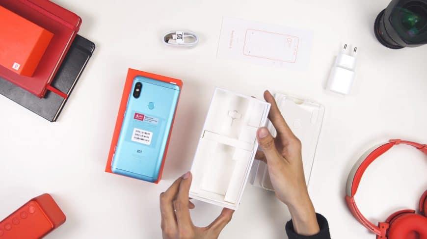 Комплектация Xiaomi Redmi Note 5