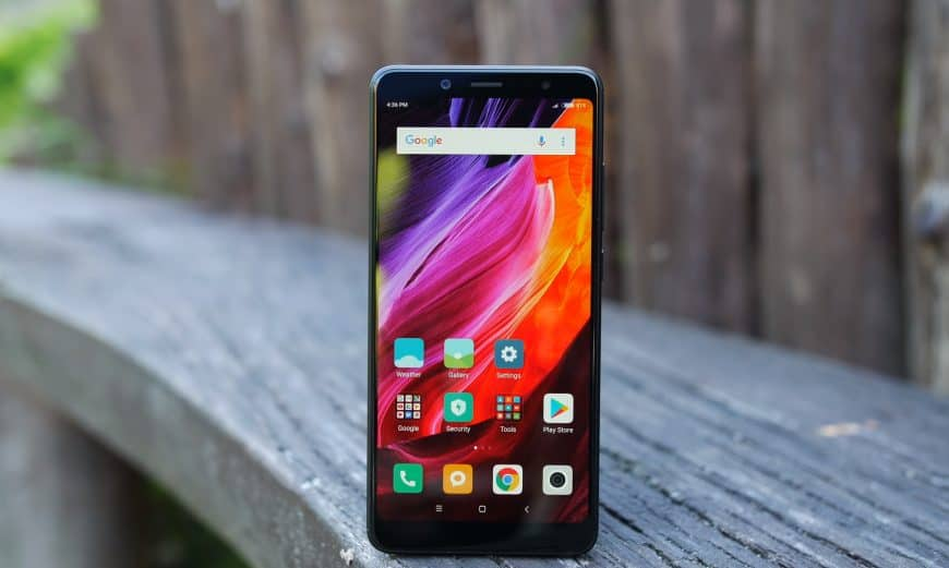 Дизайн смартфона Xiaomi Redmi Note 5
