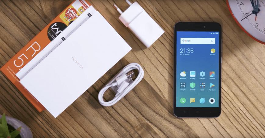 Комплектация Xiaomi Redmi 5A