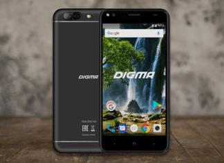 Обзор Digma VOX E502 4G