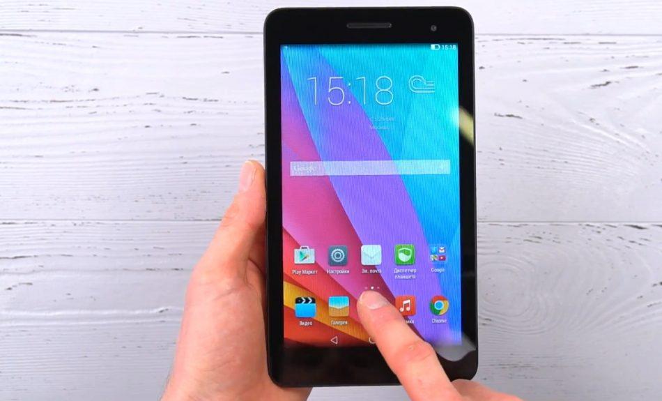 Дизайн Huawei MediaPad T1 7.0