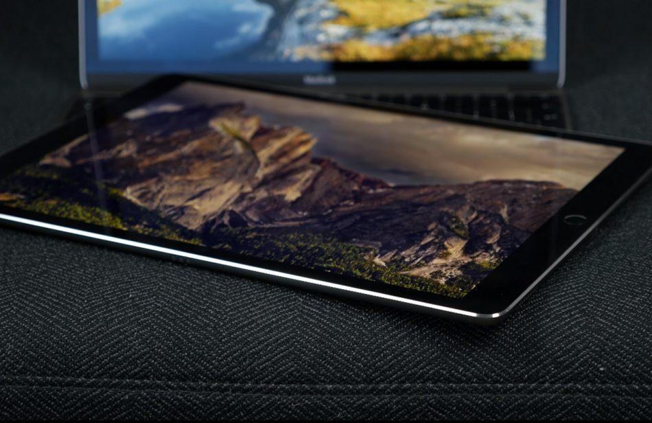 Дизайн планшета iPad Pro 12.9