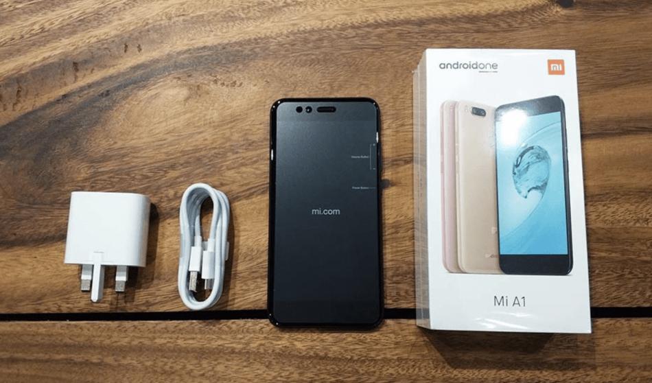 Комплектация Xiaomi Mi A1