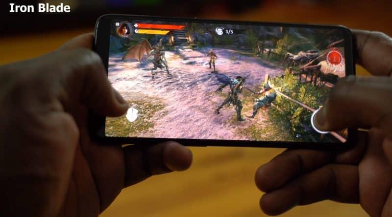 Игровой процесс на OnePlus 6
