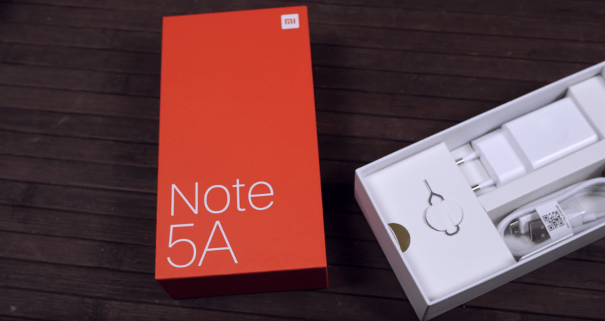 Комплектация Xiaomi Redmi Note 5A
