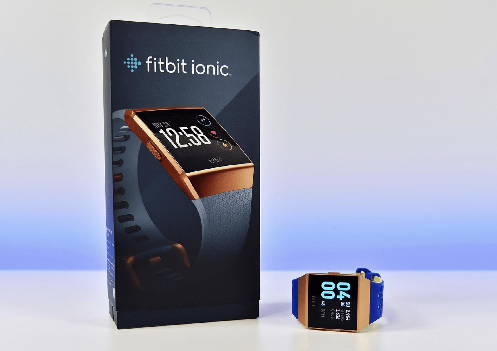 Комплектация FitBit Ionic