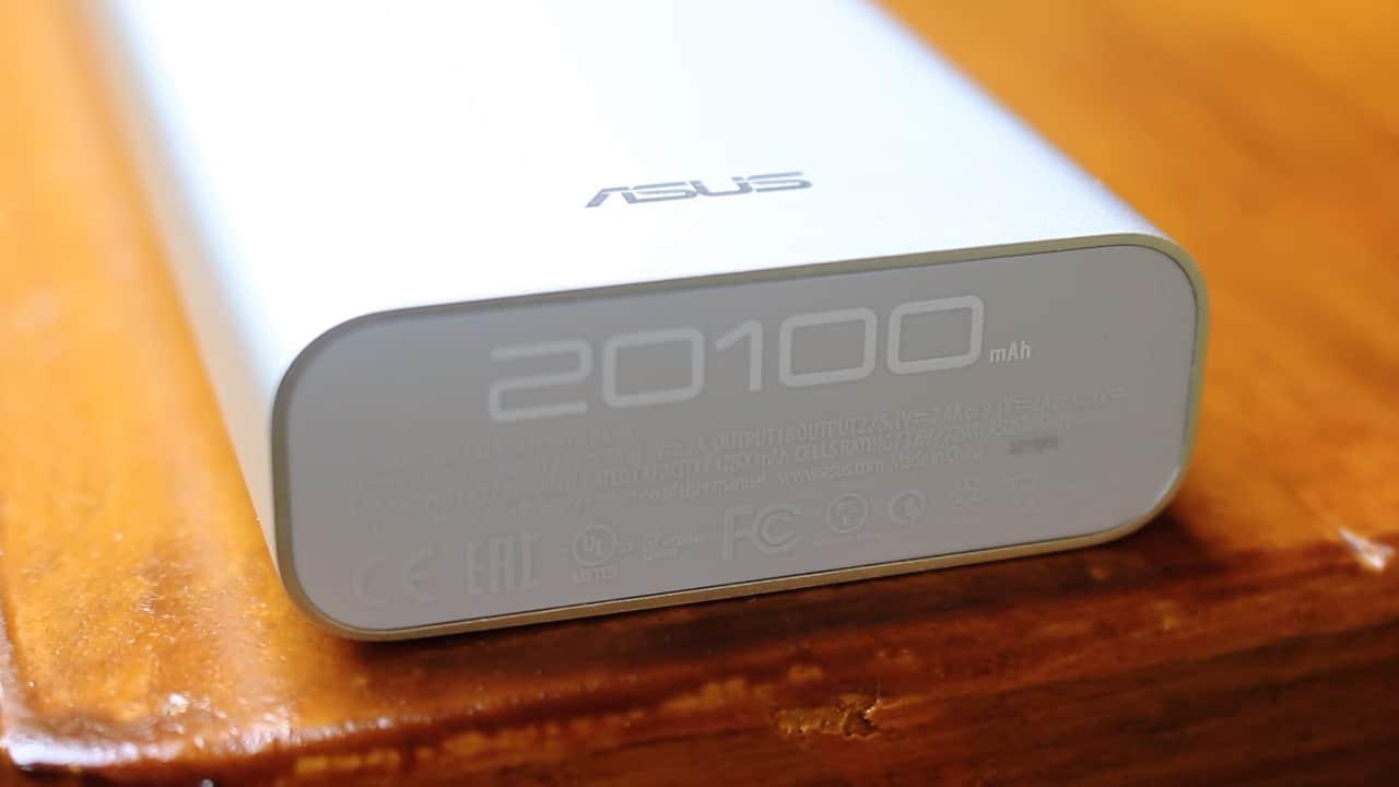 торец ASUS ZenPower Ultra 20100