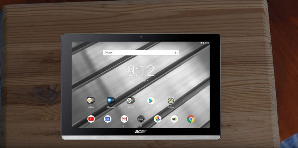 ОС Acer Iconia One 10 Coldango