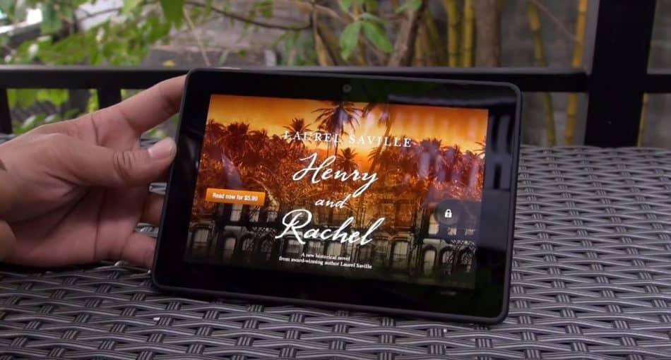 Экран Amazon Kindle Fire HDX 7.0