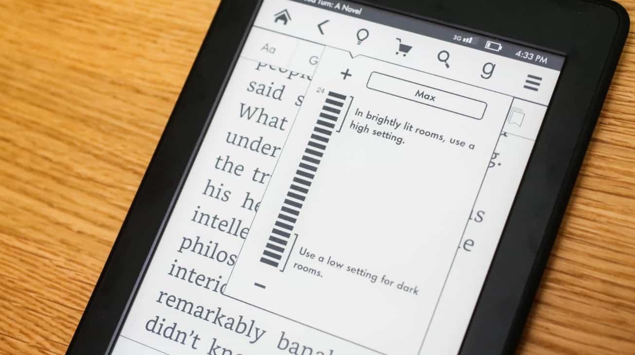 Экран Amazon Kindle Paperwhite