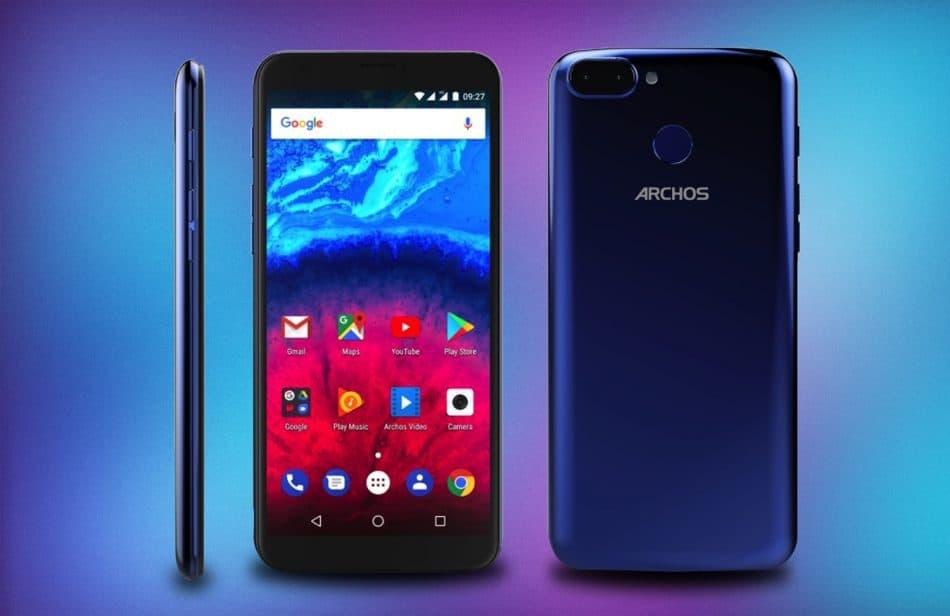 Дизайн смартфона Archos Core 57S