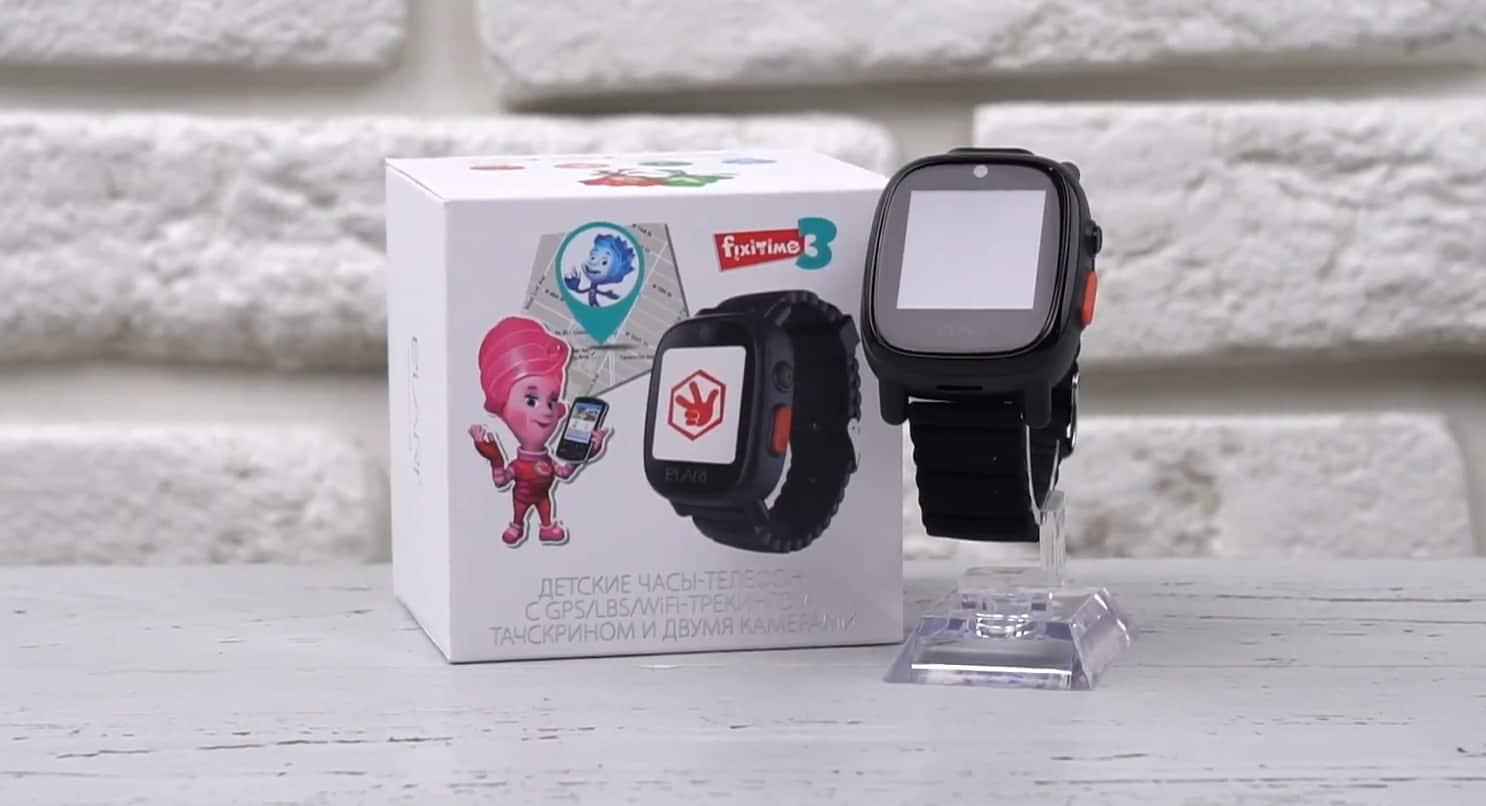 Упаковка и часы Elari FixTime 3