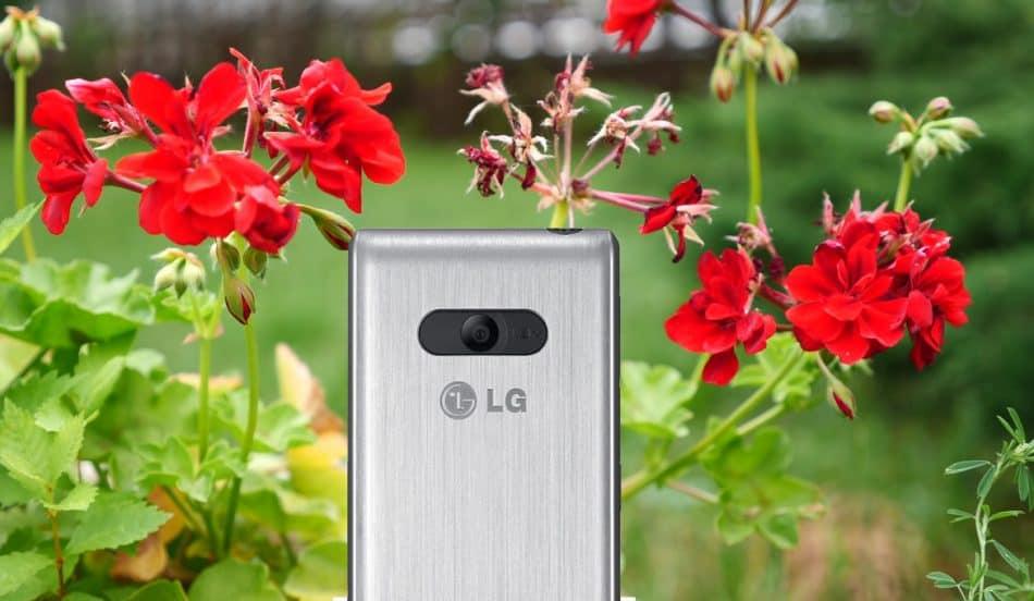 Камера у LG A390